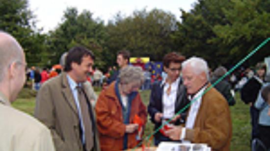 Wolfgang Jüttner auf dem Stadtteilfest Vahrenheide/Sahlkamp